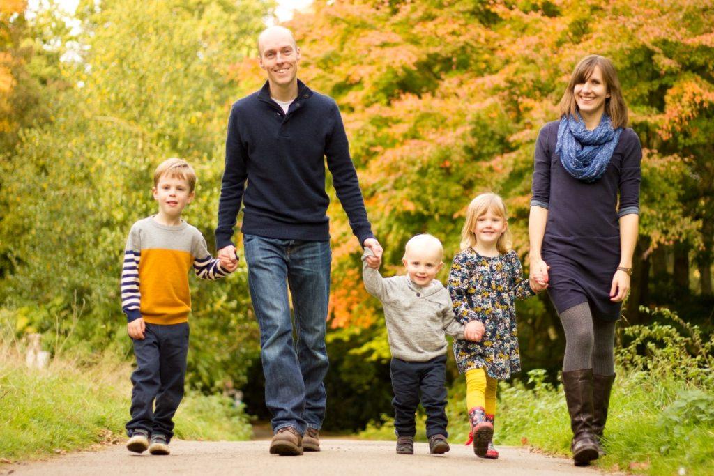 Smiley Day Photography Autumn family walk