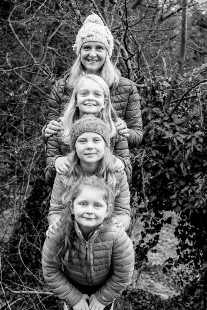 Mum and her girls