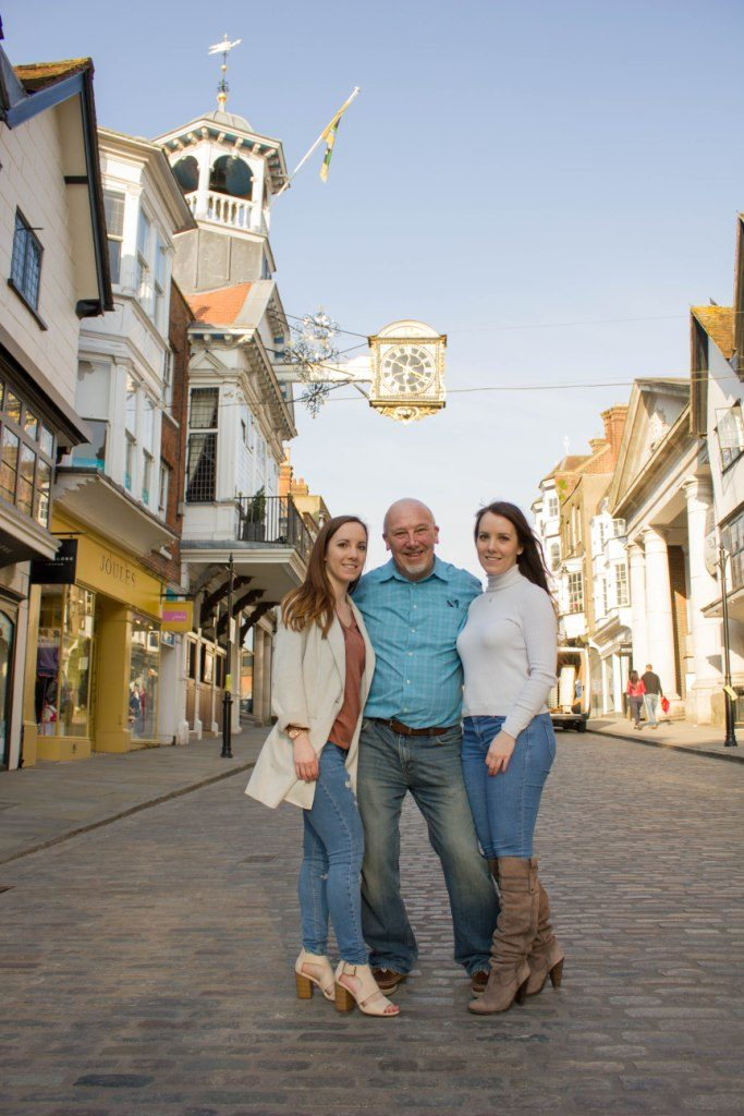 Guildford Town Centre, Smiley Day Photography